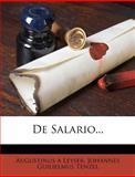 De Salario..., Augustinus A. Leyser, 1271497999