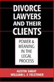 Divorce Lawyers and Their Clients : Power and Meaning in the Legal Process, Sarat, Austin and Felstiner, William L., 0195117999