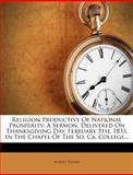 Religion Productive of National Prosperity, Robert Henry, 1275377998