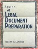 Basics of Legal Document Preparation, Cummins, Robert R., 0827367996