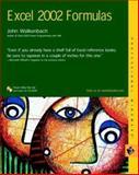 Excel 2002 Formulas, John Walkenbach, 076454800X