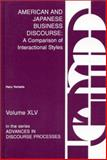American and Japanese Business Discourse, Haru Yamada, 0893918008