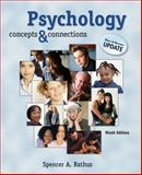 Psychology : Concepts and Connections, Media and Research, Rathus, Spencer A., 0495098000