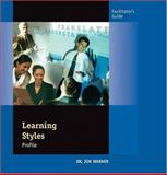 Learning Styles Profile : Facilitation Guide, Warner, Jon, 0874258006