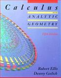 Calculus with Analytic Geometry, Ellis, Robert, 0030968003