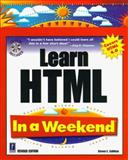 Learn HTML in a Weekend, Callihan, Steven E., 0761518002