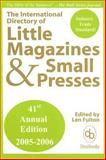 The International Directory of Little Magazines and Small Presses, , 0913218006