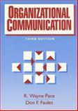 Organizational Communication, Pace, R. Wayne and Faules, Donald F, 0136438008
