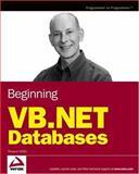 Beginning VB.Net Databases, Thearon Willis, 0764568000