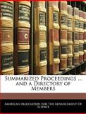 Summarized Proceedings and a Directory of Members, , 1143328000