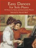 Easy Dances for Solo Piano, Andy Boroson, 0486438007