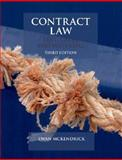 Contract Law : Text, Cases, and Materials, McKendrick, Ewan, 0199208018