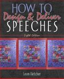 How to Design and Deliver Speeches 8th Edition