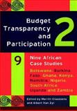 Budget Transparency and Participation 2 : Nine African Case Studies, Claassens, Marritt and Classens, Van Zyl, 1920118012