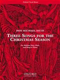 Three Songs for the Christmas Season, , 0193868016