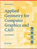 Applied Geometry for Computer Graphics and CAD 9781852338015