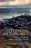 Thinking Socratically, Schwarze, Sharon and Lape, Harvey, 0205098010