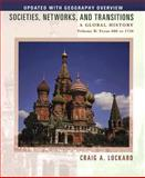 Societies, Networks, and Transitions, Lockard, Craig A., 0547048025