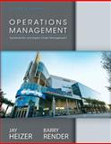 Operations Management, NEW MyOMLab with Pearson EText, and Student CD, Render, Barry and Heizer, Jay, 0133408027