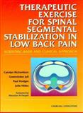 Therapeutic Exercises for Spinal Segmental Stabilization in Low Back Pain 9780443058028