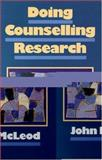 Doing Counselling Research, McLeod, John, 0803978030
