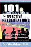 100 Leadership Action Series Effective Presentations, Ollie, Malone, 0874258030