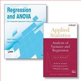 Regression and ANOVA Set : An Integrated Approach Using SAS(R) Software + Applied Statistics - Analysis of Variance and Regression, Muller, Keith E. and Clark, Virginia A., 047038803X