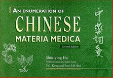 An Enumeration of Chinese Materia Medica, Shiu-Ying, Hu and Hu, Shiu-ying, 9622018033