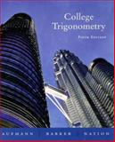 College Trigonometry, Nation, Richard D. and Barker, Vernon C., 0618388044