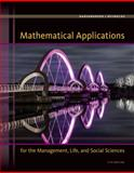 Mathematical Applications for the Management, Life, and Social Sciences, Harshbarger, Ronald J. and Reynolds, James J., 1305108043