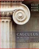 Calculus : One and Several Variables, Etgen, Garret J. and Hille, Einar, 0471698040