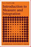 Introduction to Measure and Integration, Taylor, S. James, 0521098041