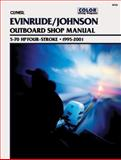 Evinrude/Johnson, Four-Stroke Outboards 5-70 Hp, 1995-2001, Clymer Publications Staff, 0892878045