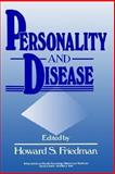 Personality and Disease, , 0471618055