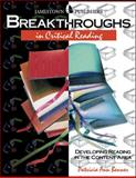 Breakthroughs in Critical Reading, Patricia Ann Benner, 0890618054