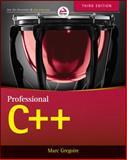 Professional C++, Marc Gregoire, 1118858050