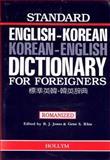 Standard English-Korean and Korean-English Dictionary for Foreigners, B. J. Jones and Gene S. Rhie, 093087806X