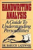 Handwriting Analysis, Baruch Lazewnik, 0924608064