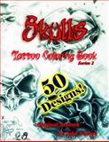 Skulls Tattoo Coloring Book, Lisa Foshee, 1480138061