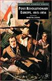 Post-Revolutionary Europe, 1815-1856, Lyons, Martyn, 0333948068