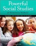 Powerful Social Studies for Elementary Students, Alleman, Janet and Brophy, Jere, 1111838062