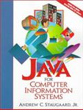 Java for Computer Information Systems, Staugaard, Andrew C., 0130108065