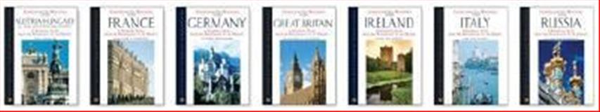 The Facts on File European Nations Set, 7-Volumes, , 0816068062