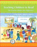 Teaching Children to Read : The Teacher Makes the Difference, Reutzel, D. Ray and Cooter, Robert B., 0136138063
