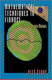 Mathematical Techniques in Finance - Tools for Incomplete Markets, Cerny, Ales, 0691088063