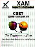 CSET Social Science 114, 115, Sharon Wynne, 1581978073