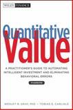 Quantitative Value 1st Edition