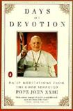 Days of Devotion, Angelo G. Roncalli, 0140258078