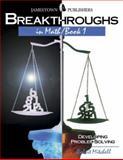 Breakthroughs in Math, Robert Mitchell, 0890618070