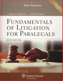Fundamentals of Litigation for Paralegals, Maerowitz, Marlene A., 0735568073
